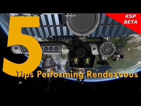 KSP 5 Tips Performing Rendezvous