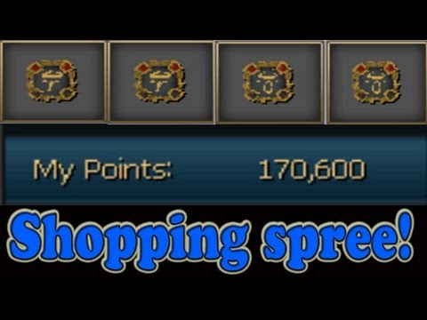 Spending those loyalty points!