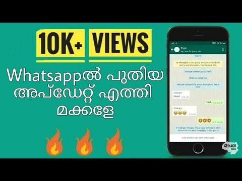 How to make admins only post on whatsapp group | New whatsapp update | Explained By SPINACH MEDIA