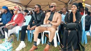Ali Kiba uso kwa uso na Harmonize msibani kwa MBALAMWEZI / Kiba atimua mbio baada ya kumuona