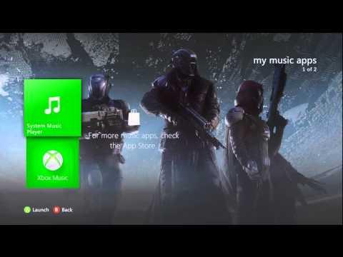 Destiny Xbox 360 Dashboard Theme :: created by musicfreakyboy (FREE)