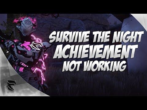 Warframe Plains of Eidolon: Survive the Night Achievement delayed!