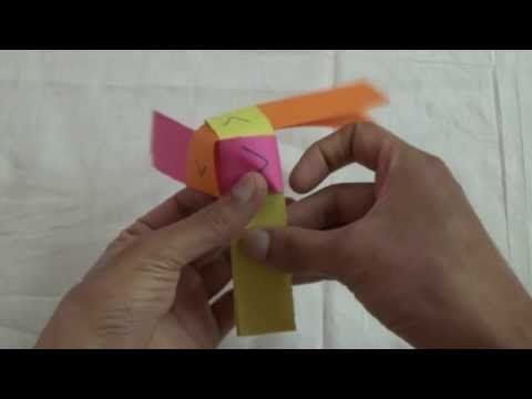 Paper fan-how to make a simple working paperfan/pinwheel or windmill?