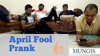 April fool prank! [Mungis. Best Comedy]