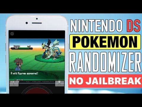 NEW! How to Get Randomized NDS Pokemon Games on your iOS Device! (NO COMPUTER) (NO JAILBREAK)