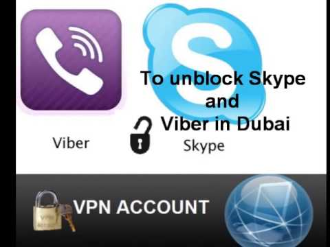 How to use Skype and Viber in UAE