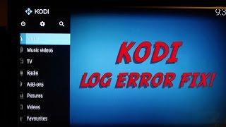 How To Check Kodi Log Viewer Error And Way To Fix Kodi Log