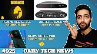 Download Realme New Series Coming,Redmi Note 8 Pro Specs,Mi Mix 4 108MP,Airtel Free TV & Box,Samsung M30s#925 Video