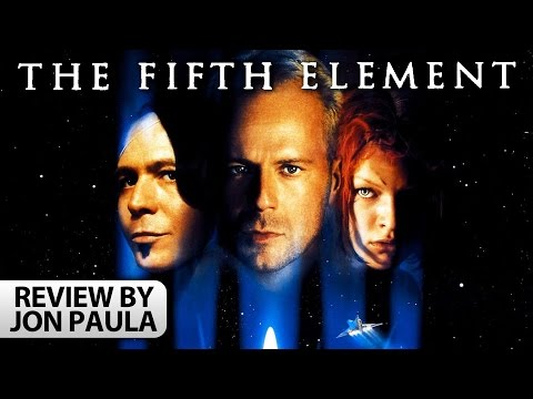 The Fifth Element -- Movie Review #JPMN