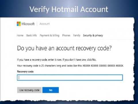 Get Hotmail Login Help Support UK