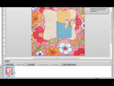 The Digikit Creator in Digital Scrapbook Artist 2