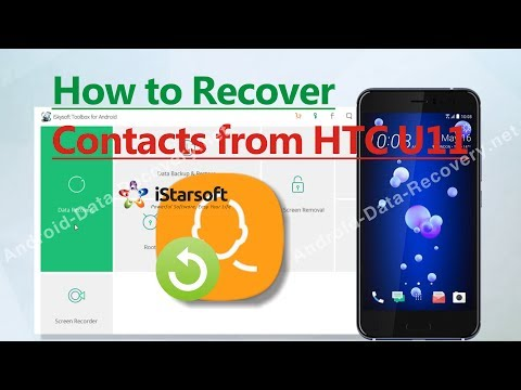 How to Recover Contacts from HTC U11