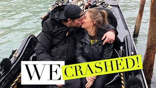 ALMOST CRASHING OUR BOAT INTO A WALL!! | Shawn + Andrew