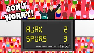 🏆AJAX vs SPURS: the song!🏆 3-3 Champions League Parody Moura Hat-Trick Goals Highlights