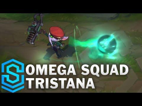 Omega Squad Tristana Skin Spotlight - Pre-Release - League of Legends