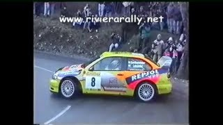 Spectacular errors of the world rally drivers...Carlos Sainz 360° Rallye Monte-Carlo