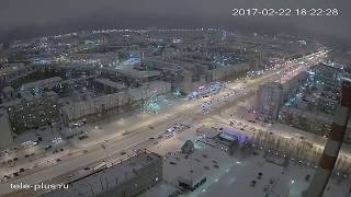 Вспышка в Сургуте 22 февраля, из-за аварии возле ГРЭС