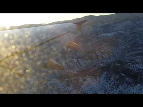 United Airlines a320: Takeoff from Eagle/Vail