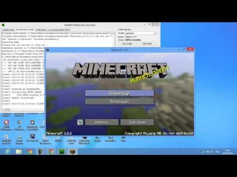 [NEW] Download Minecraft 1.6.2 - No Premium needed (SP Cracked Launcher)