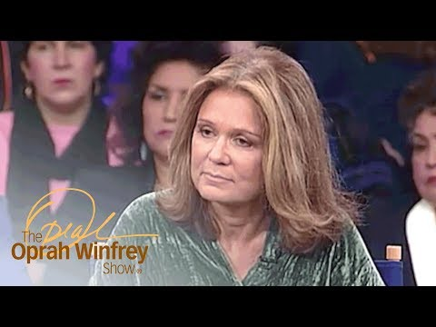 Gloria Steinem Supports a Woman with Low Self-Esteem | The Oprah Winfrey Show | OWN