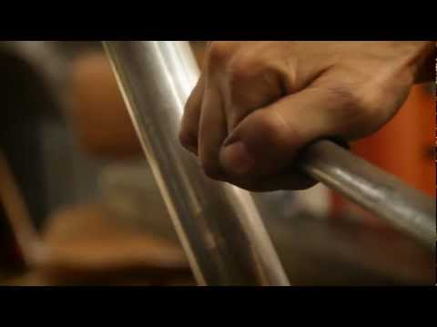 Falcon Motorcycles custom exhaust pipe fabrication