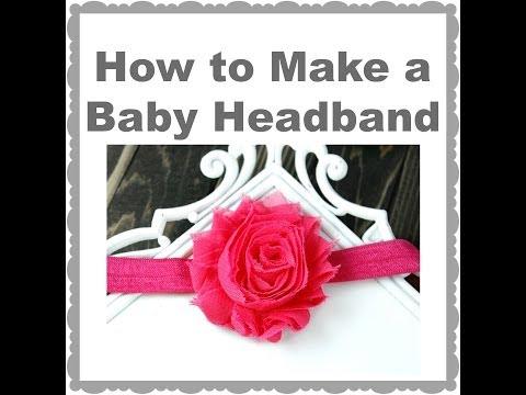 How to Make a Basic Baby Headband