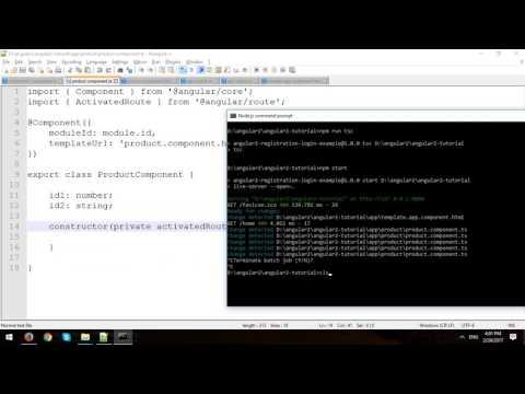 Angular 2 Tutorial - Part 6 - Handle Query Parameters