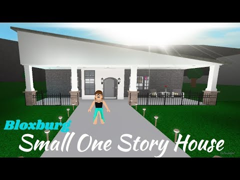 ROBLOX | Welcome to Bloxburg: Small One Story House Speedbuild