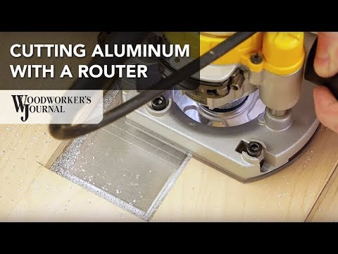 How to Cut Aluminum with a Router