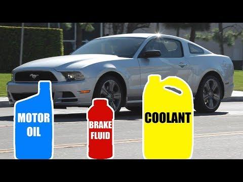 Motor Oil & Fluid Type for FORD MUSTANG 2005-2014
