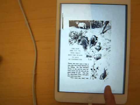 Google Books PDF Test: iPad Mini 2, Fairy Tales