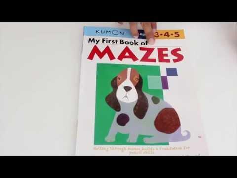 KUMON My First Book of Mazes