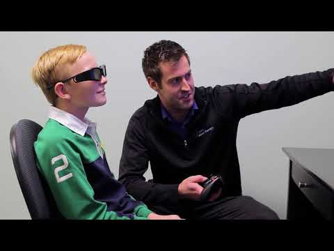 Treating a Crossed Eye without Surgery (15 Sec) | Wow Vision Therapy