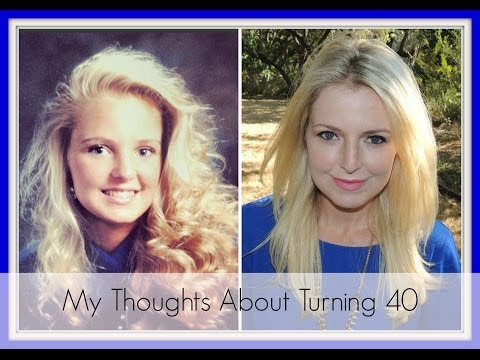 My Thoughts, Emotions about Turning 40! The Big 4-0!