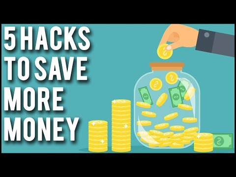 5 Practical Money Saving Hacks - How To Save More Money Each Month!