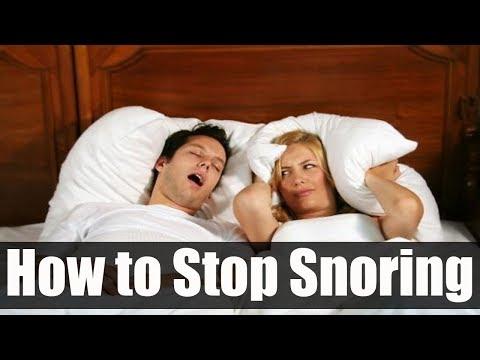 How to Stop Snoring | ways to stop snoring
