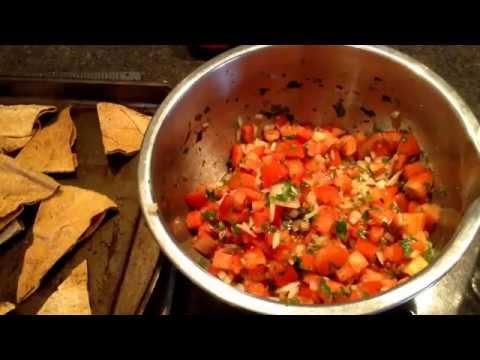 RawTill4 Fresh Homemade Salsa and Pita Chips Vegan