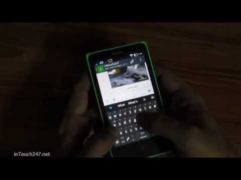 Nokia X App: Whatsapp