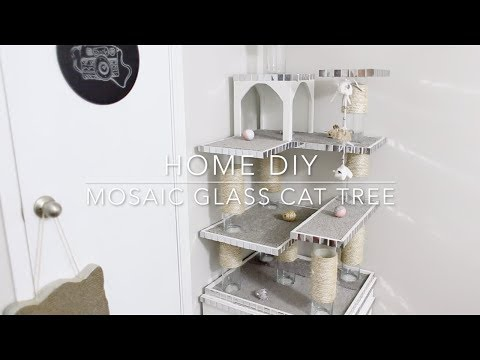 HOME DIY - CAT TREE / CAT CASTLE
