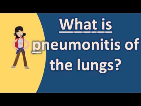 What is pneumonitis of the lungs ? |Frequently ask Questions on Health