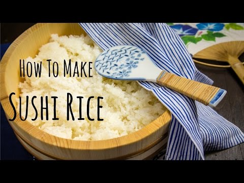 How To Make Sushi Rice (Recipe) 酢飯の作り方 (レシピ)