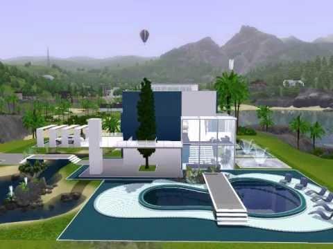 Modern beach house -  The Sims 3
