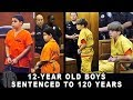 10 KIDS SERVING LIFE IN PRISON Compilation