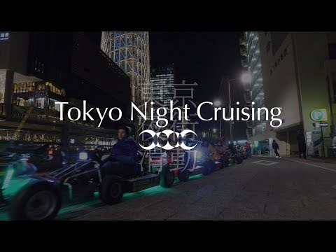 Tokyo Night Cruising 13 : Kanda → Ueno → Asakusa → Sky Tree Tower 【4K】