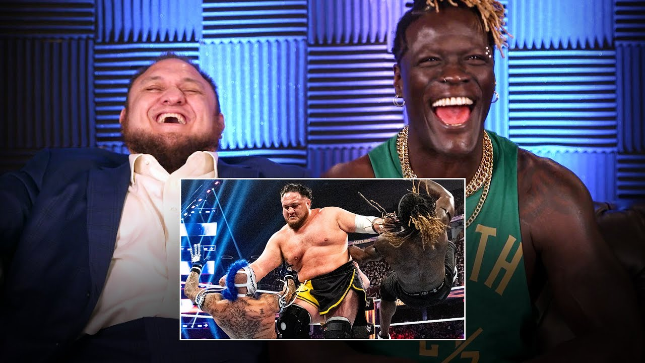 R-Truth, Mysterios and Samoa Joe react to U.S. Title Fatal 4-Way: WWE Playback
