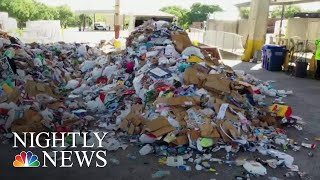 U.S. Faces Recycling Crisis After China Rejects American Recyclables | NBC Nightly News