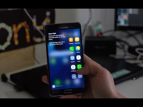 How to Convert Galaxy Note 4 into Galaxy S7 Edge!