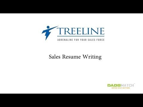 How To Write A Sales Resume