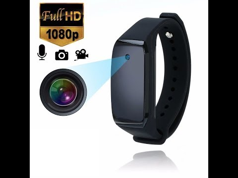 The Bracelet Wristband Spy HD Video Camera Instructions And Review