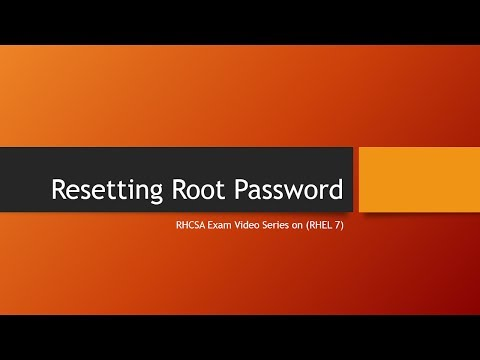 Recovering Root Password in RHEL 7 in Hindi